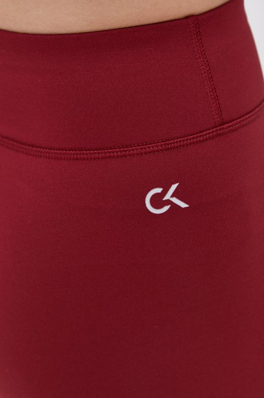 kaštanová Calvin Klein Performance - Legíny