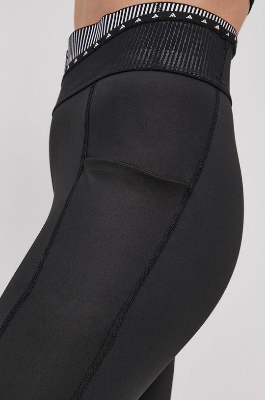 černá adidas Performance - Legíny