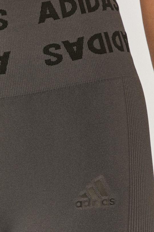šedá adidas Performance - Legíny