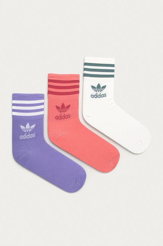bílá adidas Originals - Ponožky (3-pack) Dámský