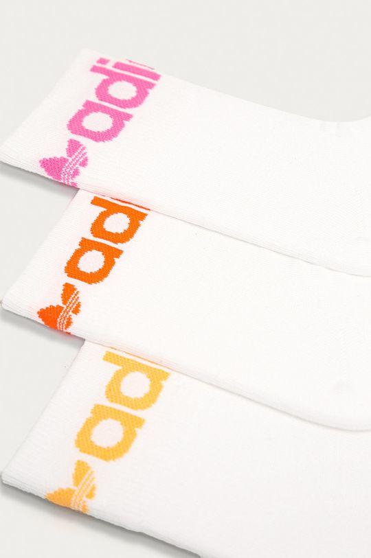 adidas Originals - Ponožky (3-pak) biela