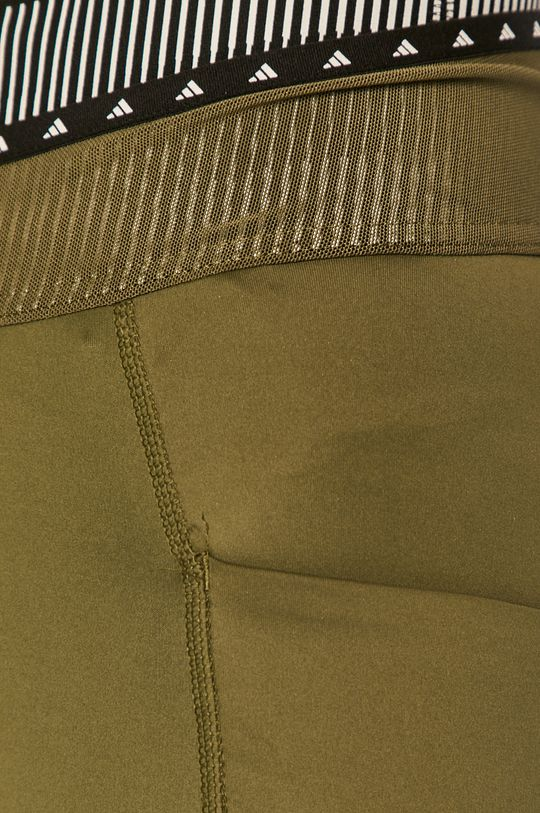 olivová adidas Performance - Legíny
