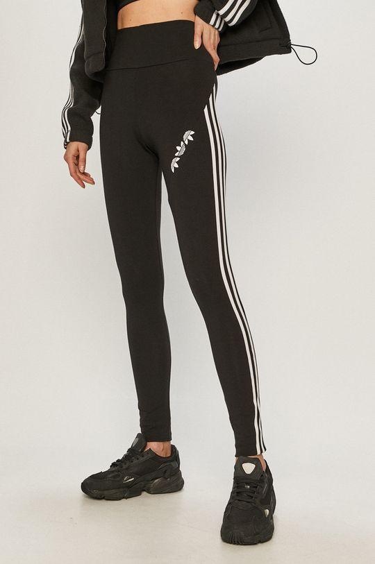 čierna adidas Originals - Legíny Dámsky