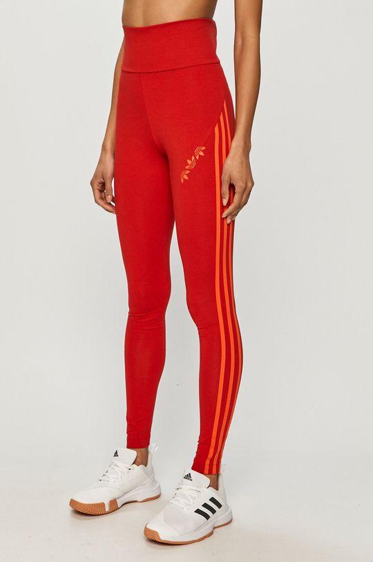 červená adidas Originals - Legíny Dámsky