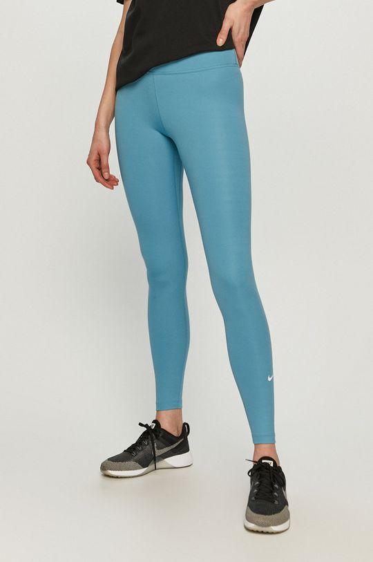 světle modrá Nike - Legíny Dámský