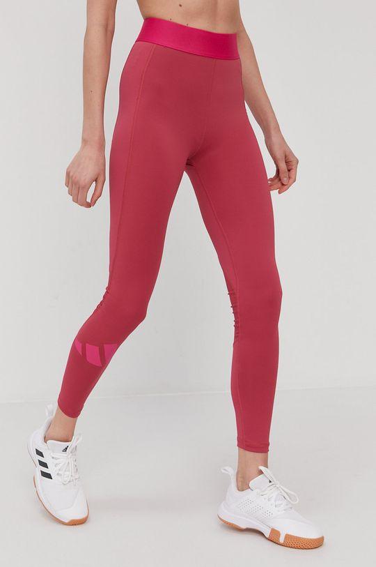 różowy adidas Performance - Legginsy Damski