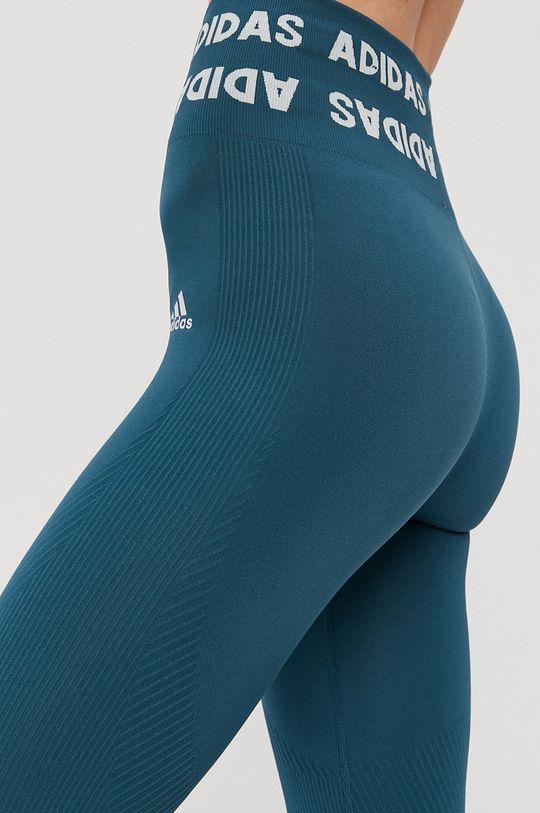 Adidas Performance - Legginsy 10 % Elastan, 20 % Poliamid, 70 % Poliester z recyklingu