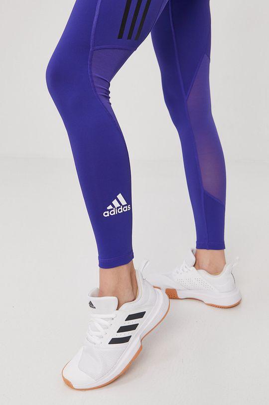fioletowy adidas Performance - Legginsy