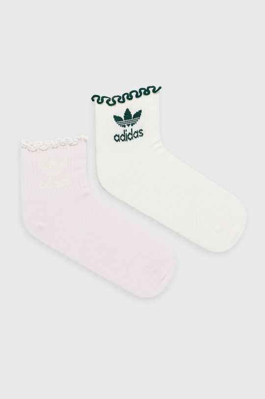 levanduľová adidas Originals - Ponožky (2-pak) Dámsky
