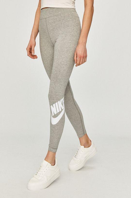 svetlosivá Nike Sportswear - Legíny Dámsky