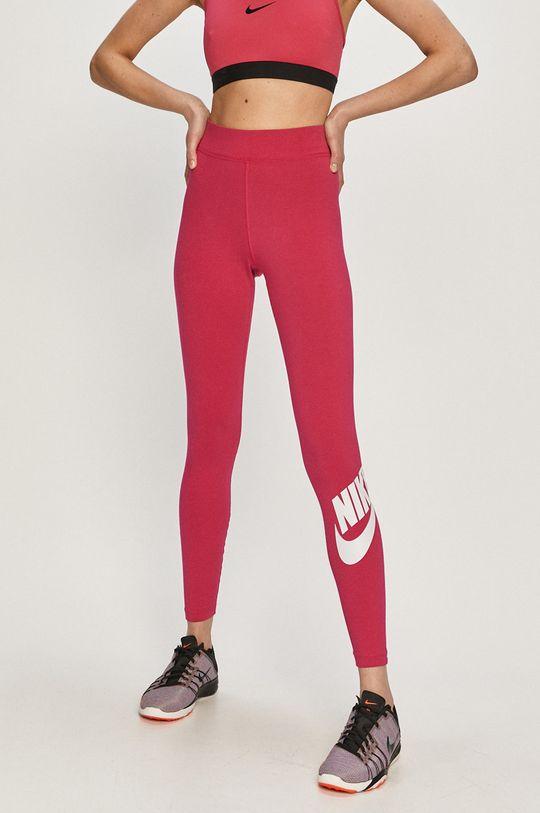 ostrá růžová Nike Sportswear - Legíny Dámský