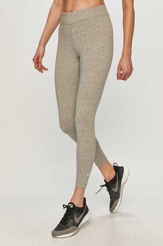 světle šedá Nike Sportswear - Legíny Dámský