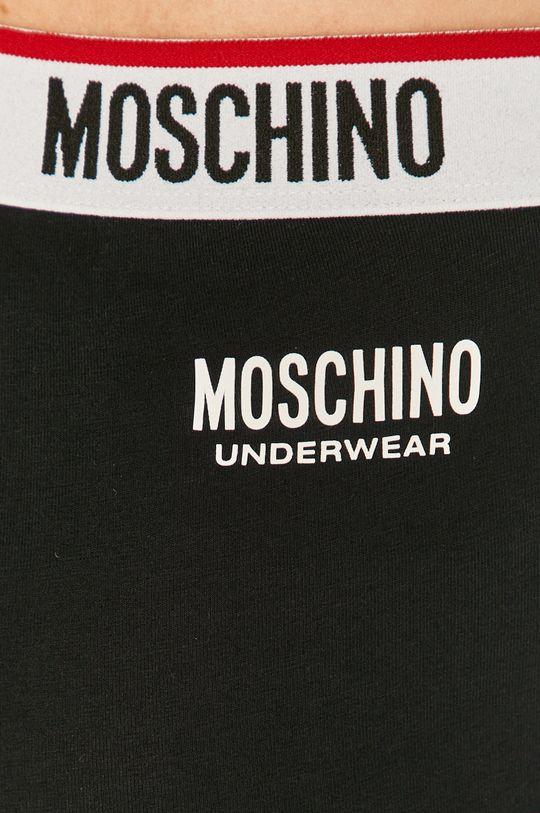 czarny Moschino Underwear - Legginsy