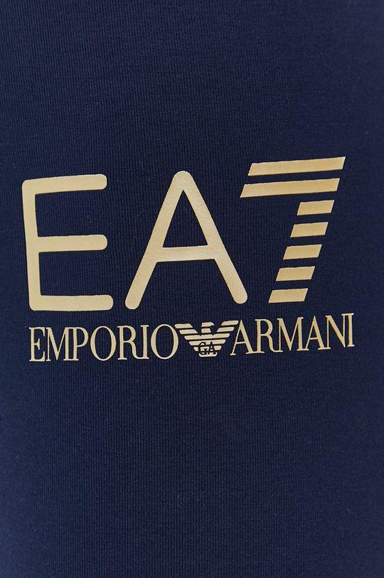 granatowy EA7 Emporio Armani - Legginsy