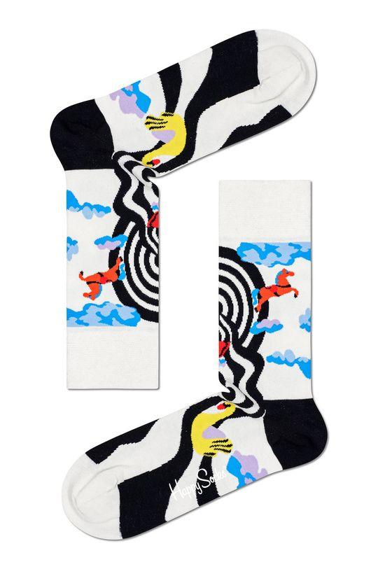 biały Happy Socks - Skarpetki Circus Damski