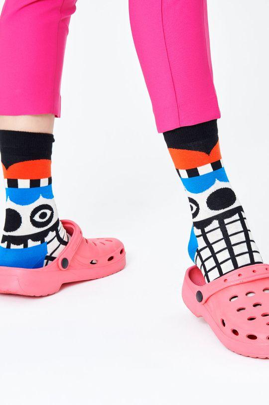 Happy Socks - Ponožky Abstract Tent biela