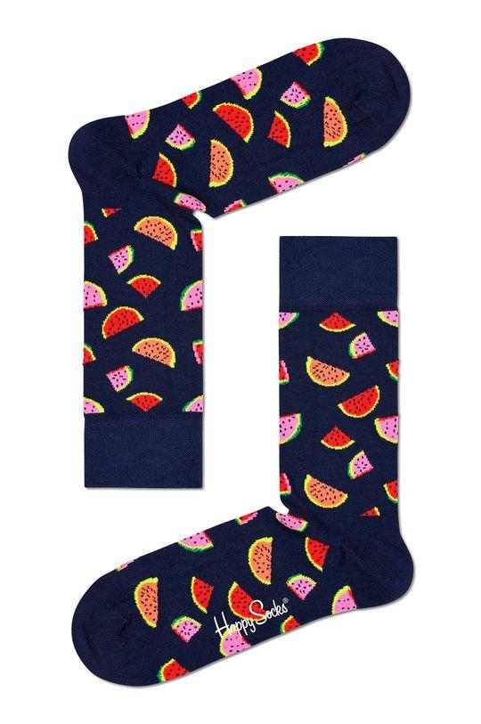 granatowy Happy Socks - Skarpetki Watermelon Damski