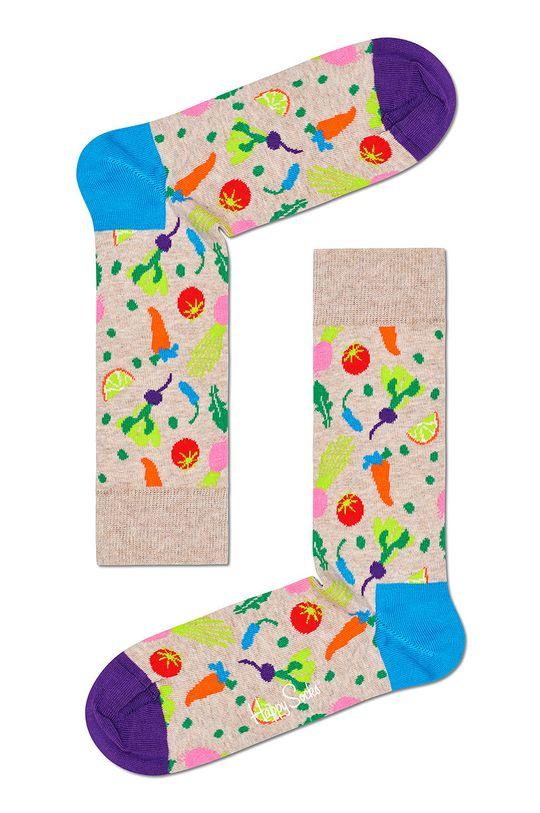 sivá Happy Socks - Ponožky Veggie Dámsky