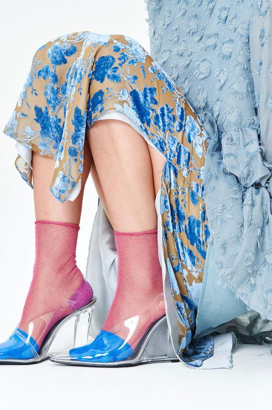 Happy Socks - Skarpetki Franca Ankle biały
