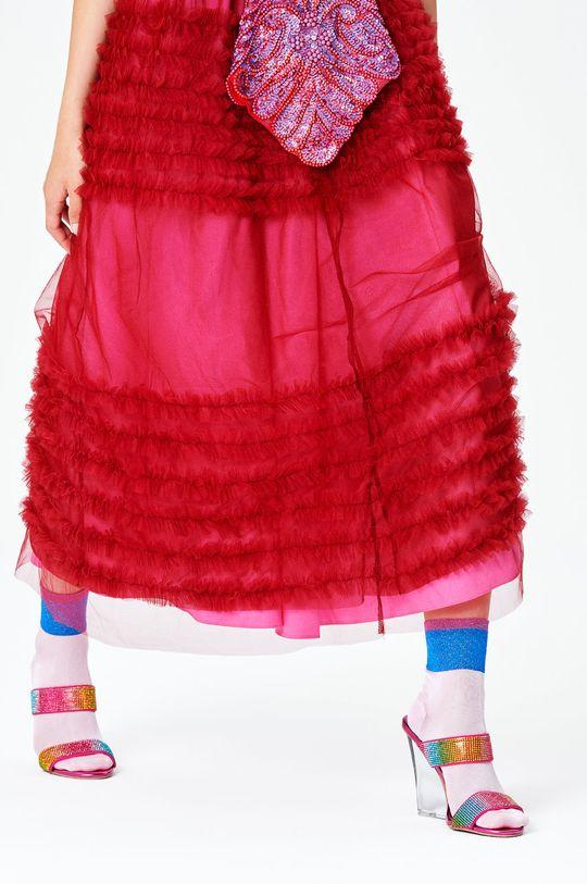 Happy Socks - Skarpetki Charlotte Ankle biały