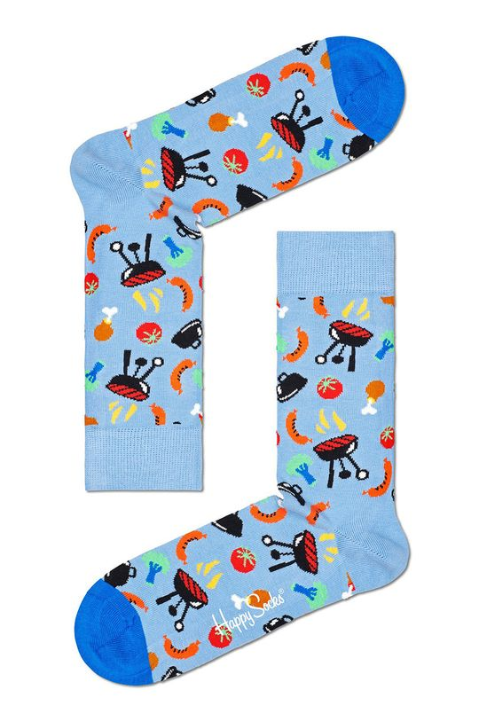 niebieski Happy Socks - Skarpetki Barbeque Damski