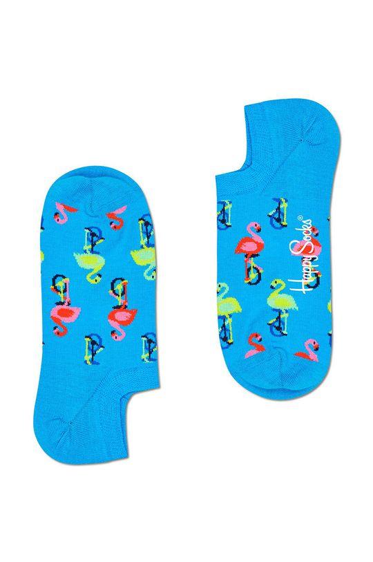 modrá Happy Socks - Ponožky Flamingo Dámský