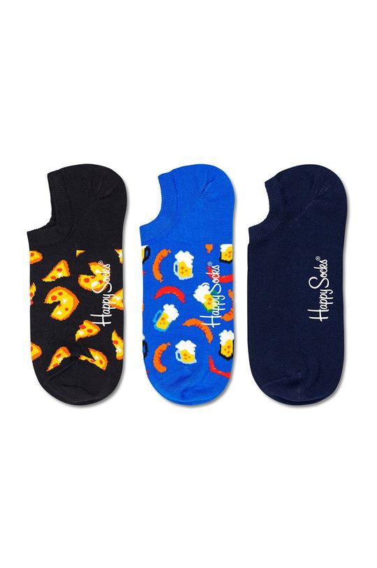 vícebarevná Happy Socks - Ponožky Junk Food (3-pack) Dámský