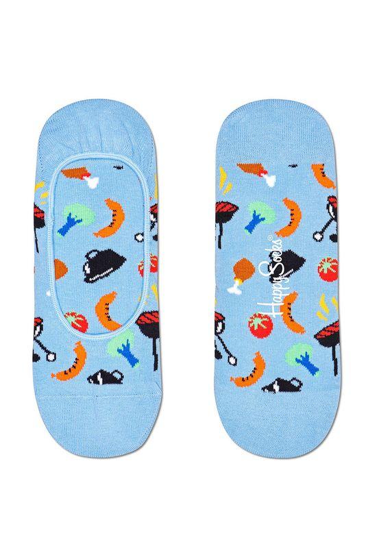 světle modrá Happy Socks - Ponožky Barbeque Dámský