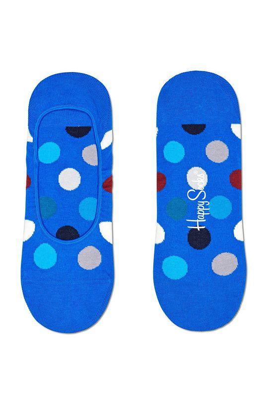 modrá Happy Socks - Ponožky Big Dot Dámský
