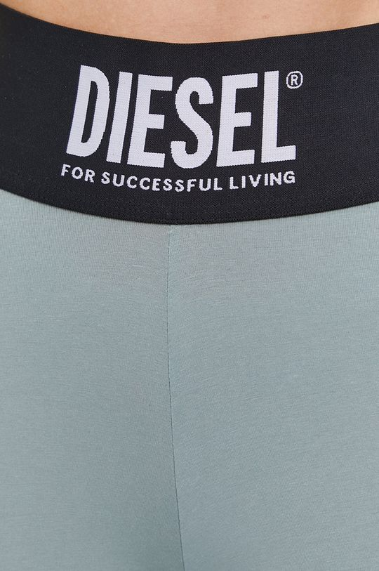 brudny zielony Diesel - Legginsy