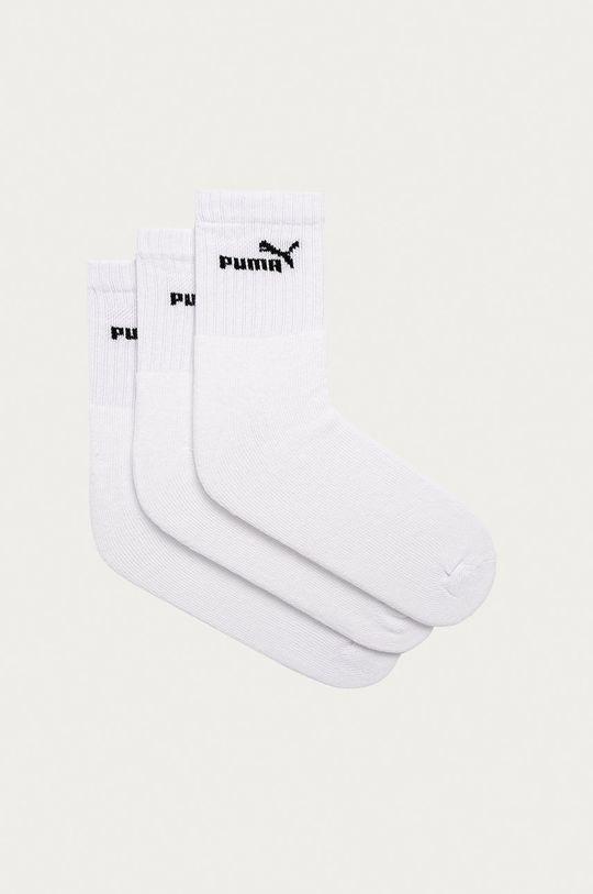 biela Puma - Ponožky (3-pak) Dámsky