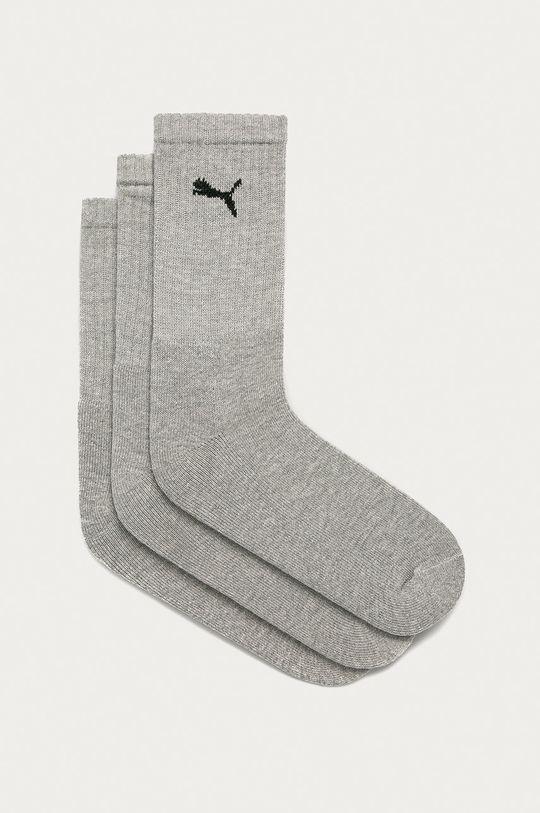 sivá Puma - Ponožky (3-pak) Dámsky