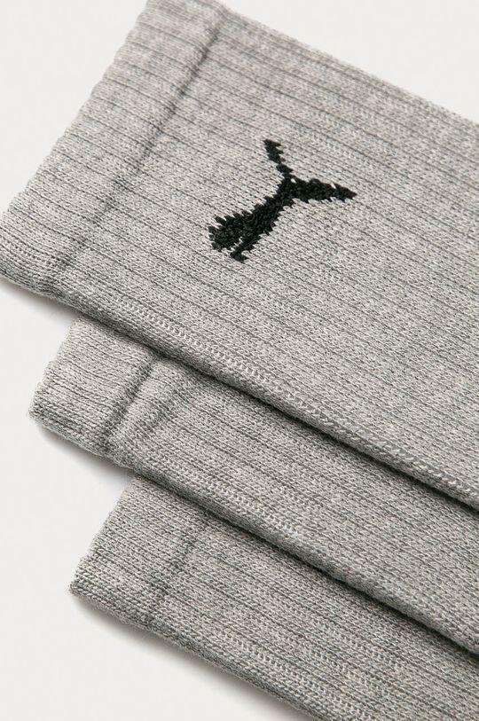 Puma - Ponožky (3-pak) sivá