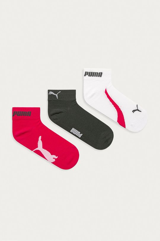 viacfarebná Puma - Ponožky (3-pak) Dámsky