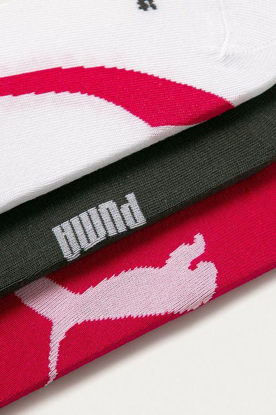 Puma - Ponožky (3-pak) viacfarebná