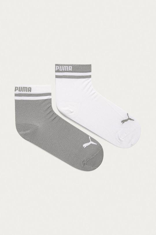 biela Puma - Ponožky (2-pak) Dámsky