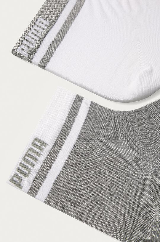 Puma - Ponožky (2-pak) biela