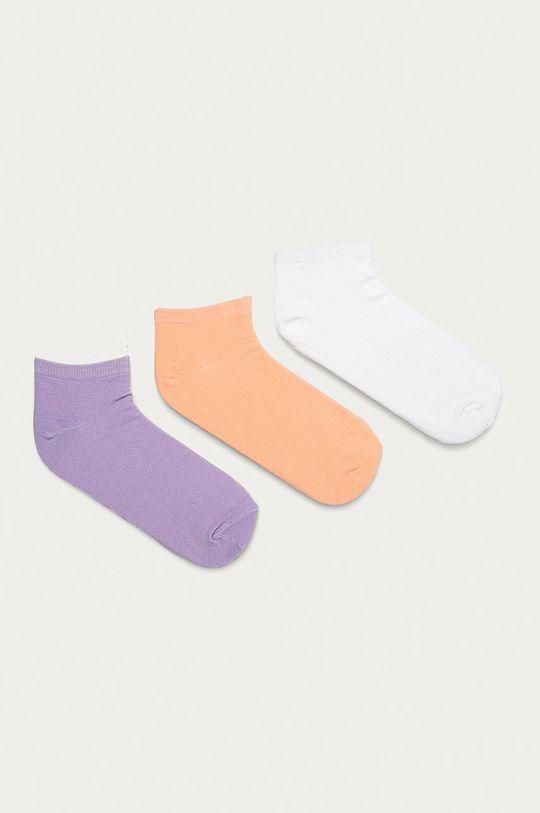 bílá Brave Soul - Ponožky (3-pack) Dámský