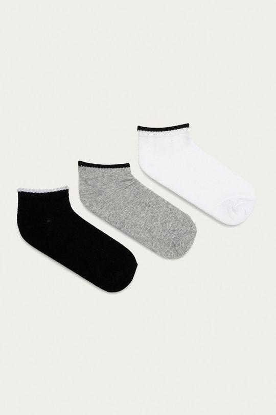 šedá Brave Soul - Ponožky (3-pack) Dámský