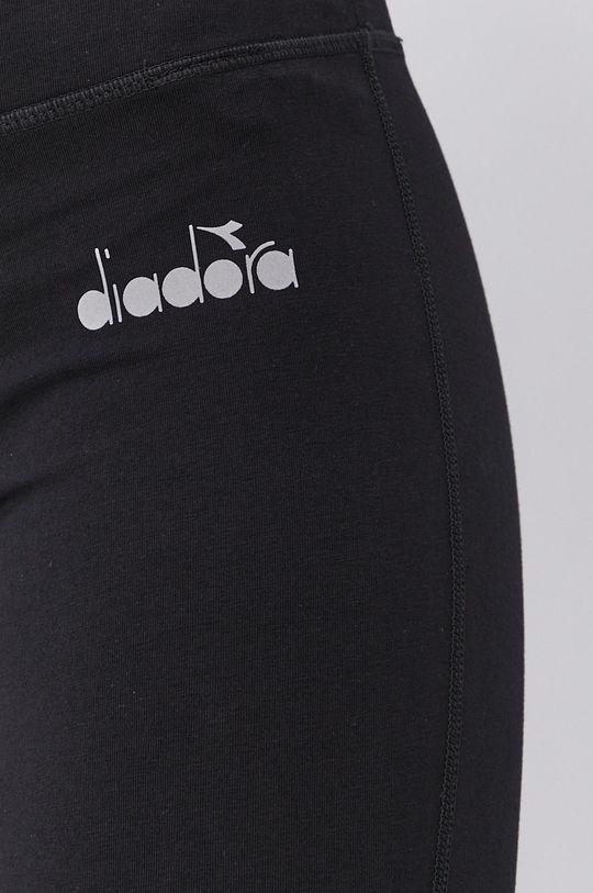 czarny Diadora - Legginsy