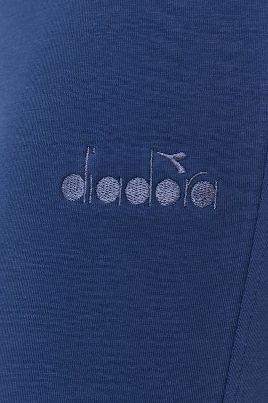 stalowy niebieski Diadora - Legginsy