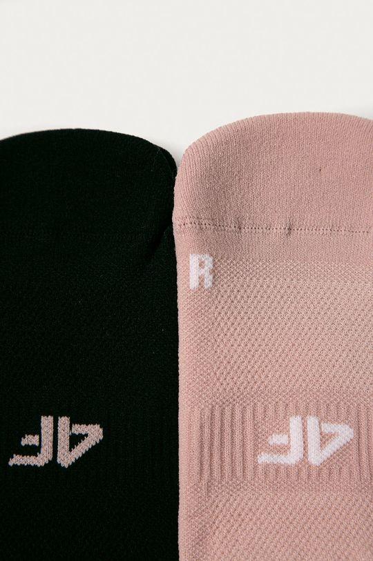 4F - Sosete (2-pack) roz