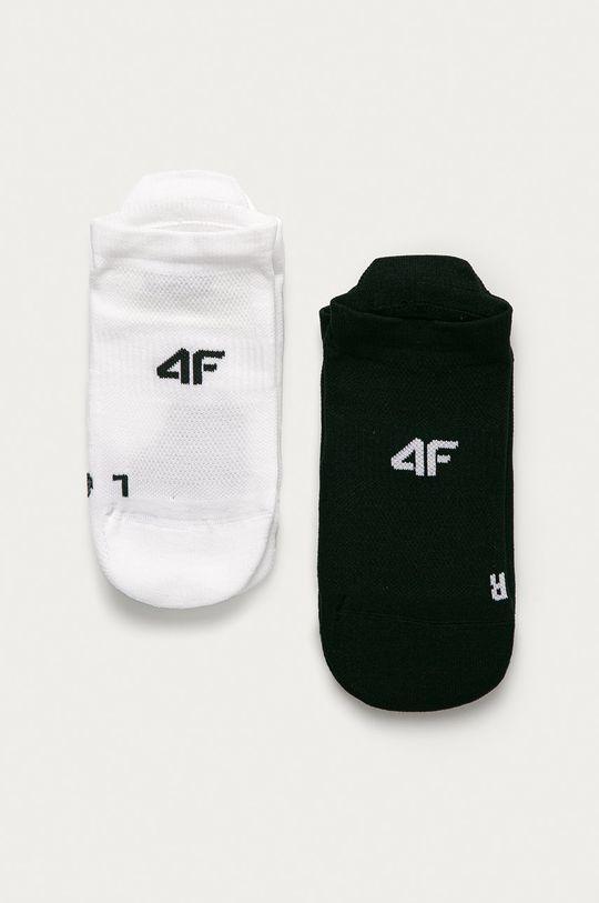 čierna 4F - Ponožky (2-pak) Dámsky