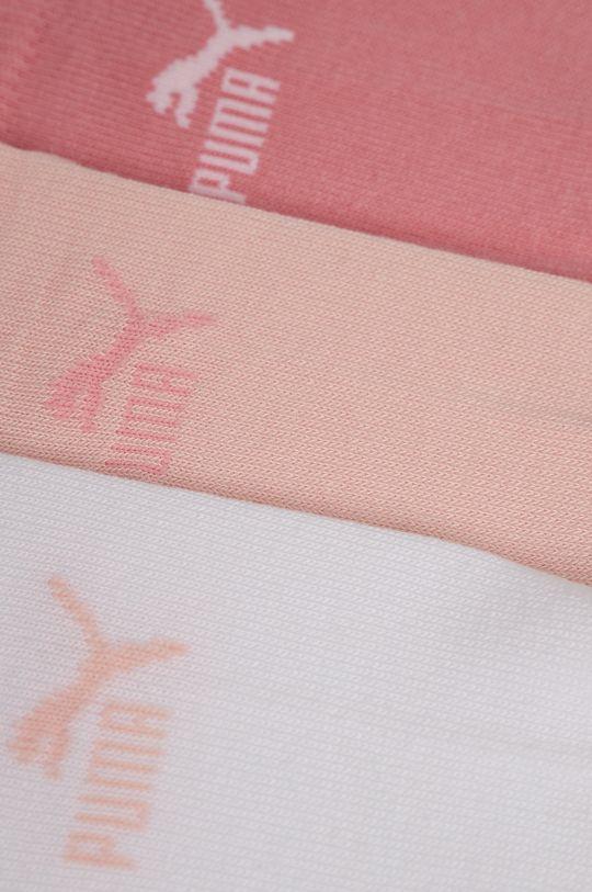 Puma - Ponožky (3-pack) růžová