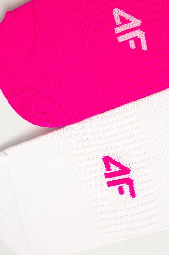 4F - Ponožky (2-pack) růžová