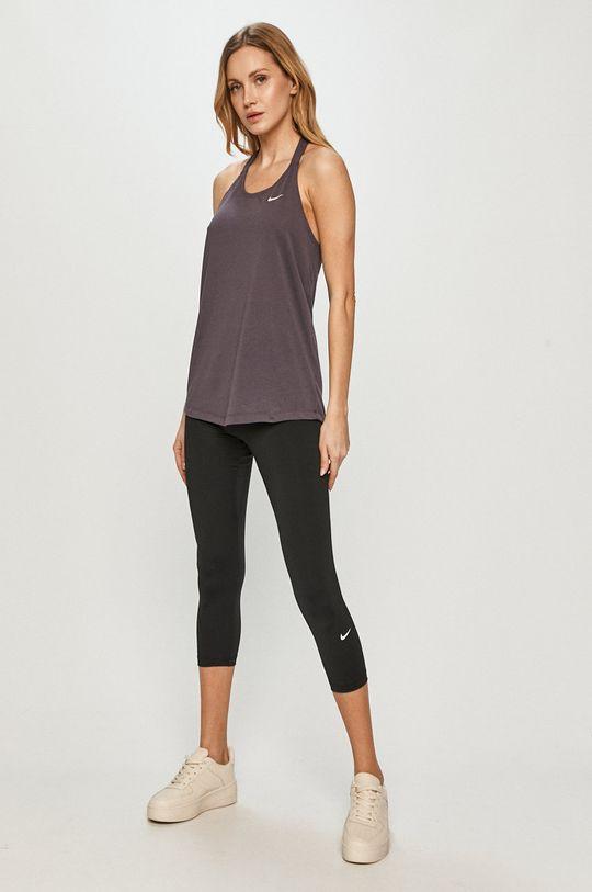 Nike - Legíny čierna