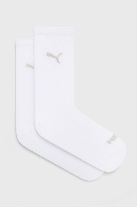 biały Puma - Skarpetki (2-pack) Damski
