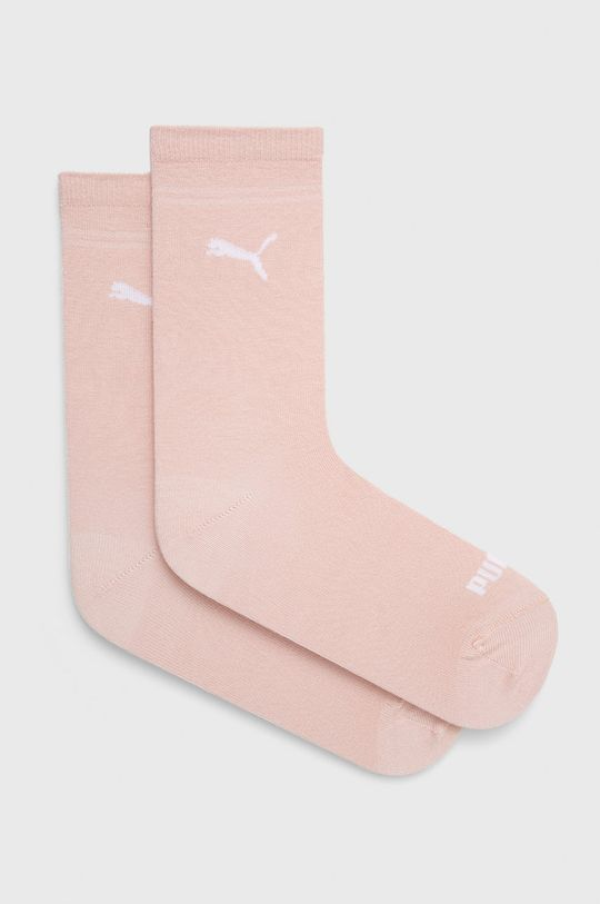 pastelowy różowy Puma - Skarpetki (2-pack) Damski