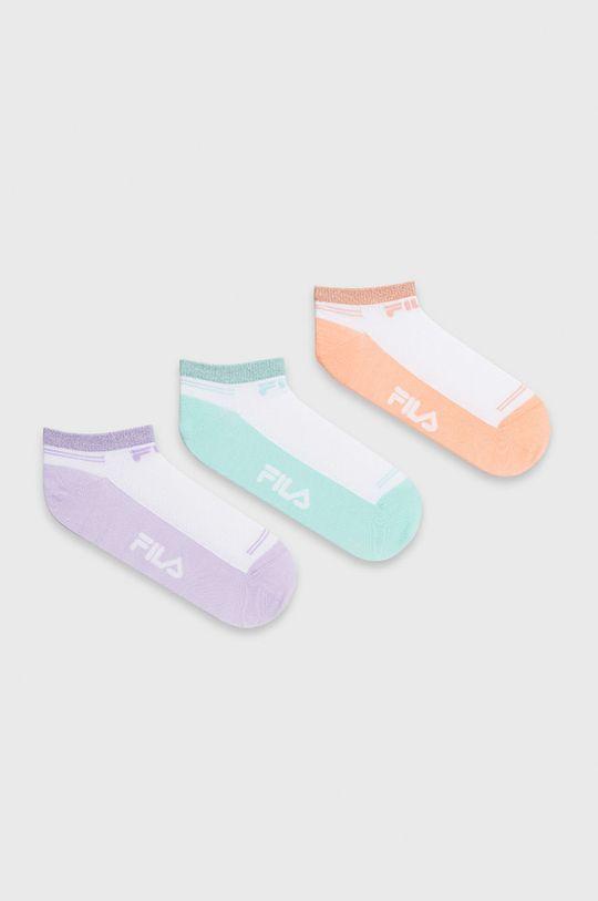 viacfarebná Fila - Ponožky (3-pak) Dámsky