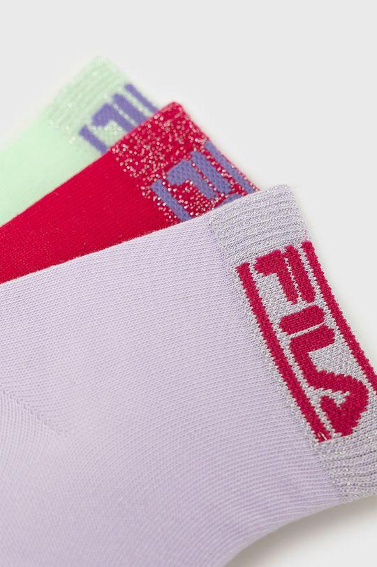 Fila - Ponožky (3-pak) viacfarebná